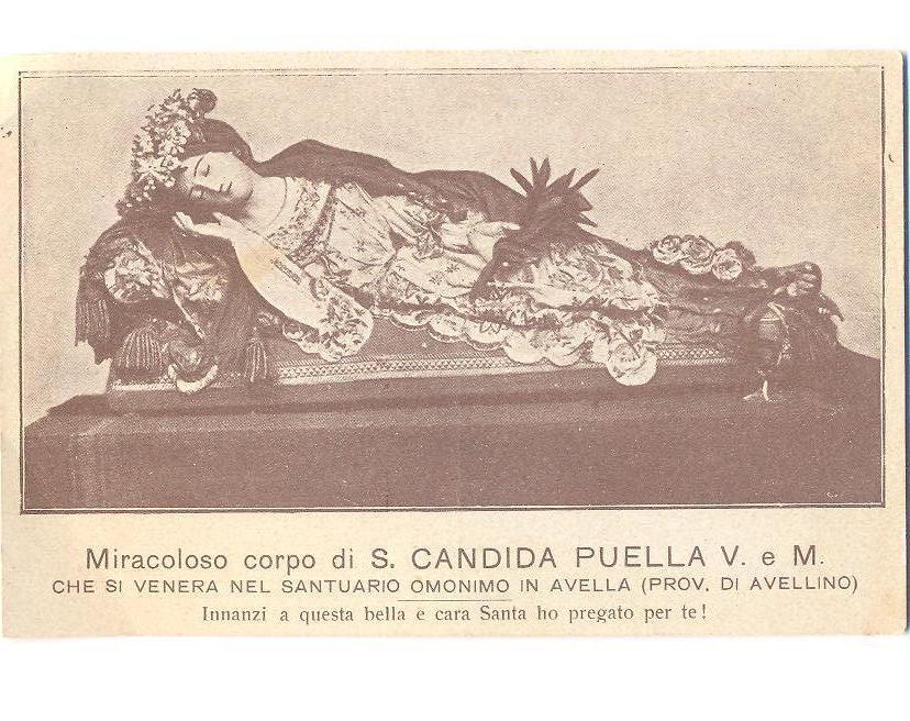 Image result for santa candida martire