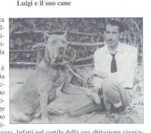 luigi e il cane