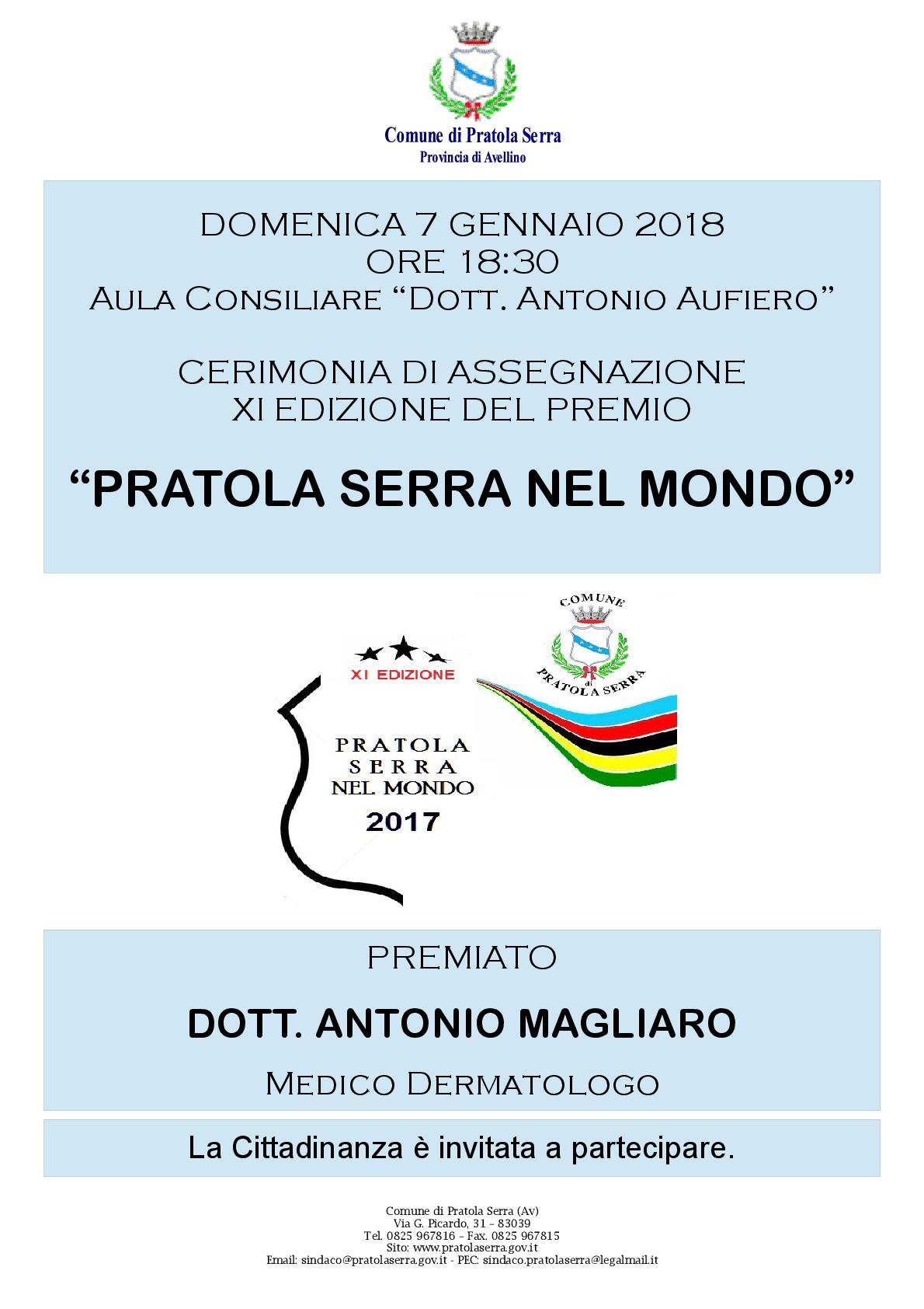 Locandina Premio Pratola Serra nel mondo 2017-001