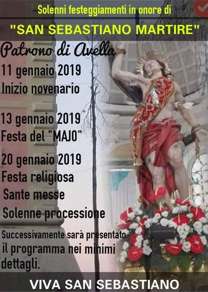 Avella Tutto Pronto Per La Festa Di San Sebastiano Mandamento